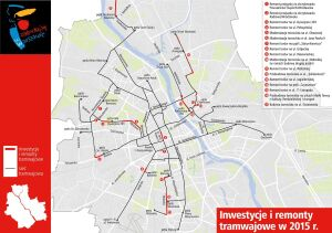 Nie tylko Wołoska. Długa lista tramwajowych remontów
