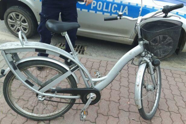 Miejski rower znaleziony w Cegłowie ksp