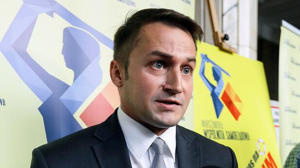 Piotr Guział, burmistrz Ursynowa PAP / Paweł Supernak