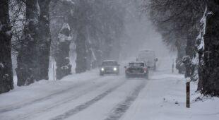 Trudna sytuacja na drogach w okolicach Ostródy