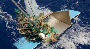 Śmieci w oceanach (Fot. The Ocean Cleanup)
