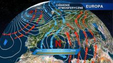 Ciepłe powietrze zostanie wypchnięte nad Ukrainę i Białoruś