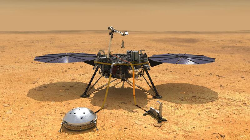 Sonda InSight będzie badać powierzchnię Marsa (NASA)