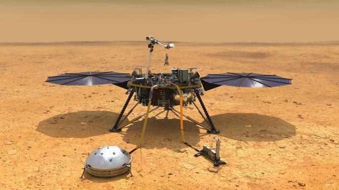 """InSight wyląduje dziś na Marsie. <br />""""Przygotowywaliśmy się do tego bardzo długo"""""""