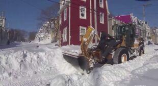 Prawie metr śniegu spadł w Nowej Funlandii w Kanadzie